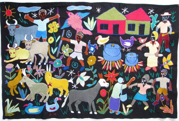 Mapula Cloth By Elizabeth Mogano Valerie Hearder On The