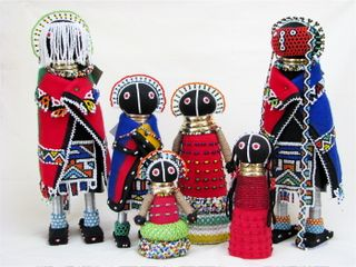 Ndebele dolls group