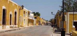 Izamle yellow town