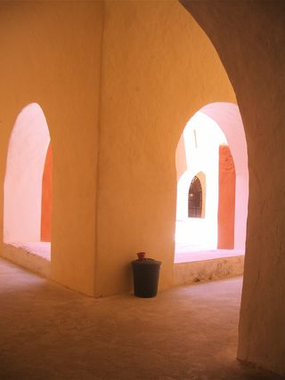 Mexico monestry arches