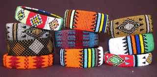 Zulu bracelets