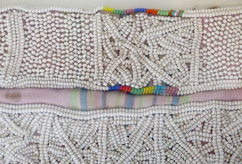 Shangaan beaded apron detail